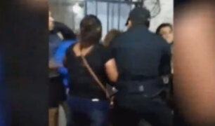 Cañete: vecinos se enfrentan a la Policía para evitar captura de requisitoriado