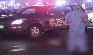 Centro de Lima: mujer muere atropellada por vehículo