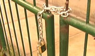 Surquillo: denuncian que vecinos de edificio se apoderan de parque