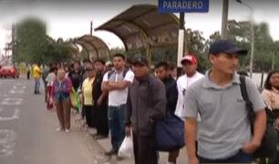 Panamericana Sur: limeños viajan por fin de semana largo