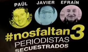 Familiares de periodistas ecuatorianos buscan reunirse con presidente Santos
