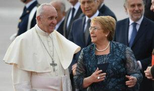 Chile: Bachelet reconoce perdón del Papa Francisco