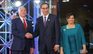 Presidente Martín Vizcarra inauguró VIII Cumbre de las Américas