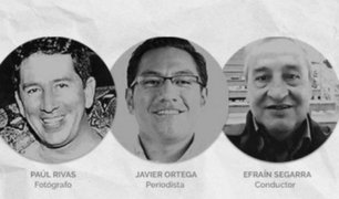 Crimen de tres periodistas ecuatorianos buscaría generar impacto mundial