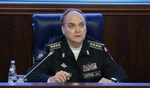 Embajador de Rusia en Estados Unidos se pronuncia tras bombardeos en Siria