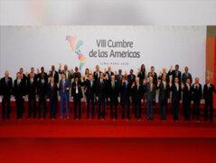 Presidente Martín Vizcarra clausuró la VIII Cumbre de las Américas