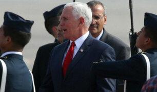 """Vicepresidente Mike Pence: """"EEUU no tolerará uso de armas químicas"""""""