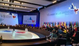Cumbre de las Américas: presidentes asistieron hoy a sesión plenaria