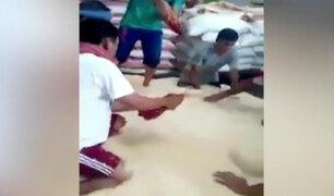Mercado de Santa Anita: Video de arroz adulterado provoca malestar entre los productores