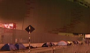 Radiohead: fans acampan en el estadio Nacional por concierto de este martes