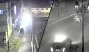 Cusco: cámara capta persecución y captura de delincuentes tras balacera