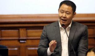 Kenji se defiende: bancadas aún no deciden si apoyarán desafuero
