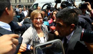 Susana Villarán participó en deslacrado de documentos incautados en sus viviendas
