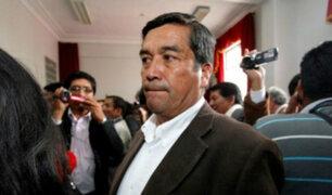 Poder Judicial ordena captura del congresista Benicio Ríos