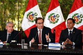 """Presidente Vizcarra pide a autoridades del Estado no realizar """"gastos insulsos"""""""