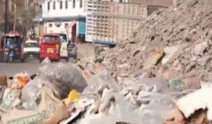 VES: continúa malestar de vecinos por desmonte y basura en las calles