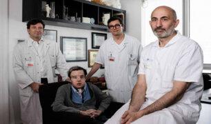Francia: hombre se sometió a dos trasplantes de cara