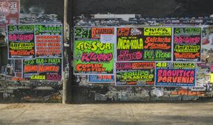 Informe24: calles y paredes de Lima están invadidas por anuncios informales