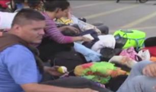 Tumbes: colapsan instalaciones del Cebaf por gran cantidad de venezolanos