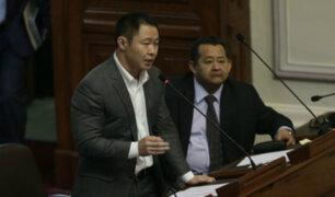 Informe recomienda continuar proceso de desafuero contra Kenji, Bocángel y Ramírez