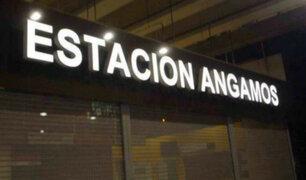 Metro de Lima: estación Angamos reabre sus puertas a usuarios