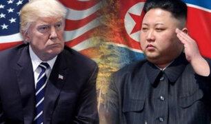Donald Trump anuncia fin de conflicto con Corea del Norte