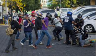 Protesta contra reforma de la Seguridad Social de Nicaragua deja ocho heridos