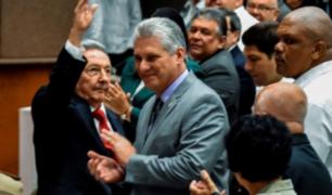 Miguel Díaz-Canel es elegido como el nuevo presidente de Cuba