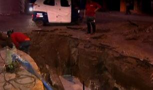 Chorrillos: gran aniego afecta decenas de viviendas