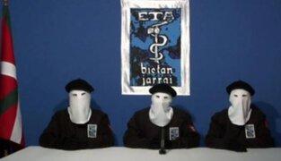 """Terroristas de ETA piden perdón por """"grave daño"""" causado en España"""
