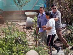Chaclacayo: vecinos protestan por presencia de terrorista Osmán Morote