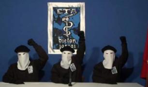 España: ETA anuncia disolución