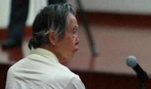 Sala Penal deja al voto impedimento de salida del país para Alberto Fujimori