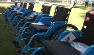 Fundación Telefónica dona sillas de ruedas a trabajadores con discapacidad