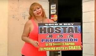 Susy Díaz revela sus secretos de hotel