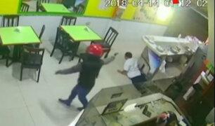 Jesús María: cámaras de seguridad registran asalto a chifa