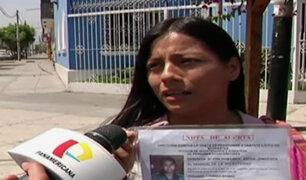 Padres denuncian desaparición de su hija cuando iba rumbo a colegio de Lince