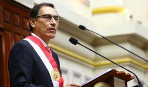 Presidente Vizcarra planteará al Congreso retorno a la bicameralidad