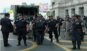 Palacio de Justicia: desalojan ambientes de Colegio de Abogados de Lima