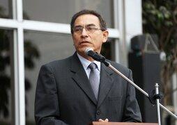 Presidente Vizcarra se reunió con bancada oficialista por voto de confianza