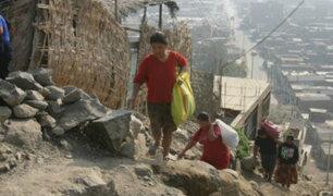 """Presidente Vizcarra calificó de """"inaceptable"""" el incremento de la pobreza"""