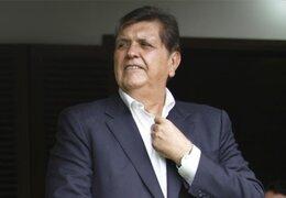 Alan García critica a Humala y PPK por cifras sobre la anemia en el Perú