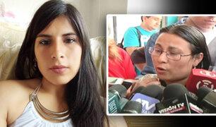 Hospital Almenara: familiares de Eyvi Ágreda piden ayuda a la población
