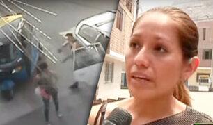 San Juan de Lurigancho: ladrón encañona a joven madre de familia para robarle