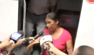 Padres de Eyvi Ágreda llegan a Lima tras 18 horas de viaje