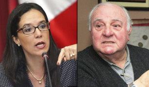 Luis Giampietri advierte a Marisa Glave a moderar sus comentarios