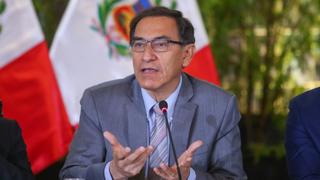 Presidente Vizcarra visitó a Eyvi Ágreda en hospital Almenara