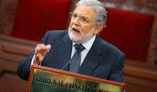 Tribunal Constitucional: en el Perú se respeta el Estado de Derecho y la democracia