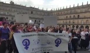 España: indignación por condena a sujetos acusados de violación grupal