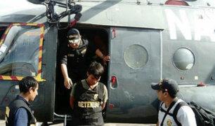Iquitos: Policía traslada a Lima a presunto miembro de las FARC